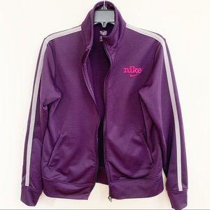 Nike Zip Up Purple Jacket
